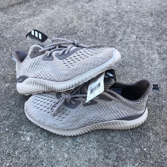 fd8a7b3a5d9a NEW Adidas Alpha Bounce W Tech Earth US6